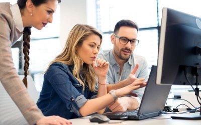 Como o uso de um sistema pode impactar na produtividade da agência