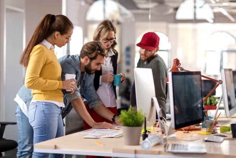 comunicação entre a sua agência e os clientes